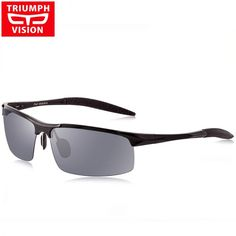 Sporting Triumph Vision Brand Designer Frame Rivet Prescription Glasses Men Photochromic Eyeglasses Anti Blue Ray Computer Glasses Myopia Handsome Appearance Apparel Accessories