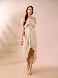 """Follow me tonight, I go strapless, I go sheer!   ITEM CODE: 121517 - """"Justina"""" bandeau dress"""