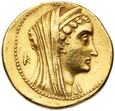 Ptolemaic Kingdom. Ptolemy VI or Ptolemy VIII. Gold Octodrachm (27.99 g), 180-164 BC or 145-116 BC Alexandria. Diademed and veiled… / MAD on Collections - Browse and find over 10,000 categories of collectables from around the world - antiques, stamps, coins, memorabilia, art, bottles, jewellery, furniture, medals, toys and more at madoncollections.com. Free to view - Free to Register - Visit today. #Coins #Gold #Ancient #MADonCollections #MADonC