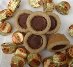 Baby Reeses Cup Cookies