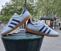 @sehowo on Insta with the beautiful new @sneakersnstuff GT SNS 'Berlin' Adidas Samba, Adidas Gazelle, Berlin, Adidas Sneakers, Beautiful, Adidas Shoes