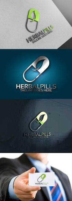 Natural Pill Logo . Logo Templates. $29.00