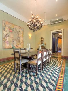 Gallery Dining Room, Dining Table, Photo Displays, Merida, Outer Space, Tiles, House, Interior Design, Furniture