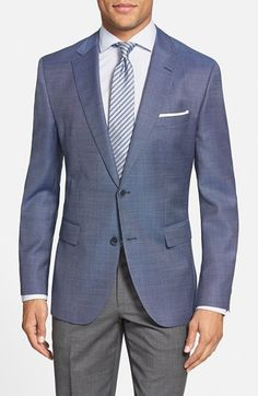 BOSS+'James'+Trim+Fit+Wool+Sport+Coat+available+at+#Nordstrom