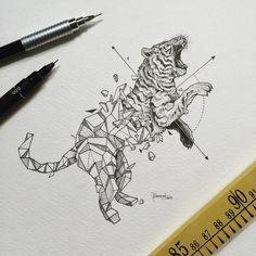 Kerby Rosanes | Geometric Beasts - Imgur