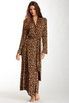 Natori Animal Print Dressing Robe
