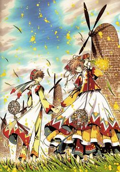 Tags: Anime, Tsubasa: RESERVoir CHRoNiCLE, CLAMP, Scan, CLAMP - Tsubasa Album de Reproductions