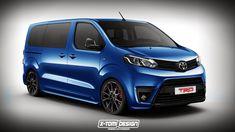 Peugeot Traveller, Citroen Spacetourer & Toyota Proace Rendered As Hot Vans