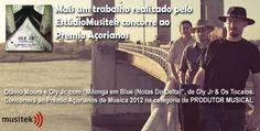 Um dos bluseiros que conhecemos em Porto Alegre. Oly Jr. e a Milonga Blues.
