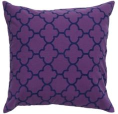 Pillows Gorgeous Shade of Purple