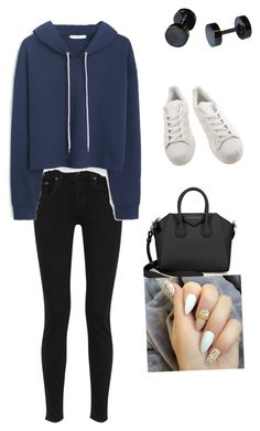 """Made by michaela"" by ellamicha on Polyvore featuring Mode, rag & bone, MANGO, adidas und Givenchy"