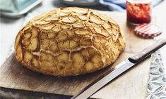 Tiger Bread Recipe: It is surprisingly easy to create this crackled top bread with a wonderfully soft centre!- One of hundreds of delicious recipes from Dr. Oetker! Dough Starter Recipe, Starter Recipes, Tiger Bread, Bread Recipes, Cooking Recipes, Biscuit Recipe, Bread Baking, Tray Bakes, No Cook Meals