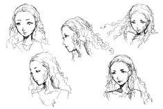 Saki Konishi Sketches