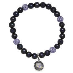 Ravens Freshwater Pearl Bracelet