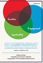 Champagnat Journal - An international Marist Journal of Charism in Education - Australia