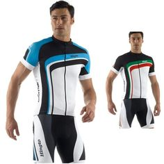 2019 Bike Jersey men Cycling Clothing short sleeve shirts 9D bib shorts set A86
