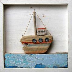 Drift Wood Sailboat