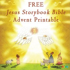 FREE Printable Jesus StoryBook Bible Advent Calendar. Too late for this year... pinning it for next year!