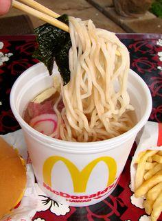 McDonald's Saimin Noodles Soup (Hawaii)