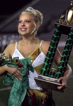 Taylor Freeland, a George Washington senior, was crowned Miss Kanawha Majorette 2012 Tuesday night at the 66th Annual Daily Mail Kanawha County Majorette and Band Festival at the University of Charleston Stadium.