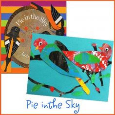 art + kids' books:  1/2 day storytime and 1/2 day making art