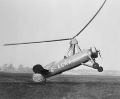 These ungainly plane-helicopter hybrids were once used to transport mail…