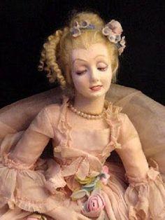 Frau Wulf's Boudoir Doll Blog: Beautiful Lenci Ladies