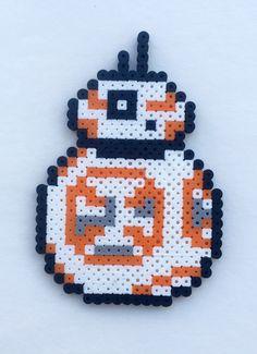 Star Wars VII: BB-8 Perler Bead Pattern by 3PiCOFandomCraft