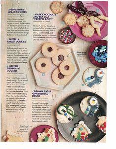"Sugar Cookies~ 5 Ways. Take that ""basic sugar cookie"" dough and transform into something spectacular! ヅ"