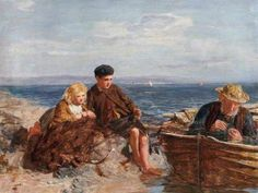 The Old Net - William McTaggart