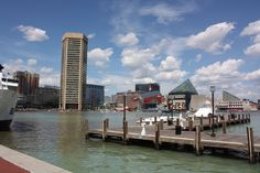 Baltimore's Inner Harbor-One of my favorite spots in Baltimore. There's an awesome aquarium there.