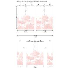 Papier peint arbre Hua-product