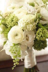 white elegant flower bouquets - Google Search