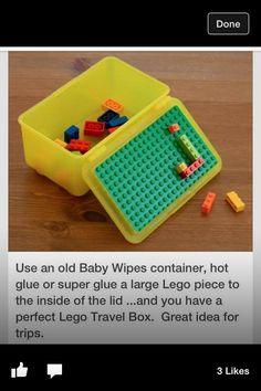 travel Lego case