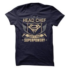 Head Chef T-Shirts, Hoodies. Get It Now ==► https://www.sunfrog.com/LifeStyle/Head-Chef-91678015-Guys.html?id=41382