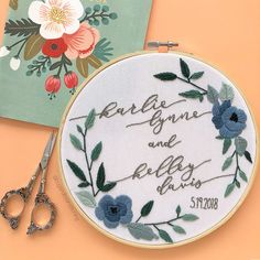 This was a fun invitation to stitch up! (Swipe to see the original )