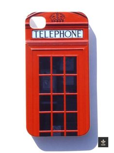 Telephone Box Hard Case For IPhone 4S