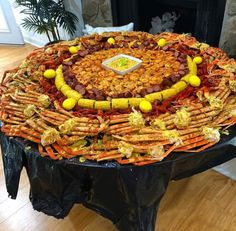 New seafood boil wedding dinner parties ideas Food To Go, I Love Food, Good Food, Food And Drink, Yummy Food, Tasty, Seafood Boil Party, Seafood Boil Recipes, Cajun Seafood Boil