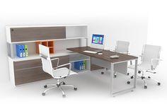 Escritorios de oficina - Línea Skand - Muebles para oficina - Poliarte