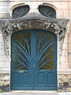 Maisons Huot, France, metal doors