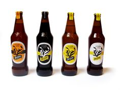 Jelen beer - redesign by Petar Tesovic, via Behance