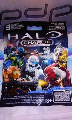 #Halo #mega #bloks #CHARLIE #Series SEALED pack #Rare new Release + bonus Bag #E3 2015 #MegaBloks