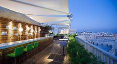 #Gerusalemme Mamilla Hotel: si prende un cocktail al rooftop bar e si vede una cartolina a 360gradi della Città Vecchia