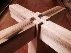 Japanese cross joint