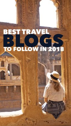 Here are some of the most inspirational travel bloggers to follow in 2018. Solo female travel, adventure travel, eco-friendly travel... you name it, they're on here.