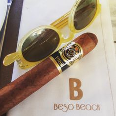 Cigars and sunglasses: a pic by Salvador on Instagram! #epos #eyewear