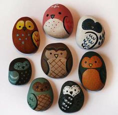 Fun Rock Painting Idea's