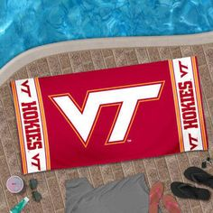 Virginia Tech Hokies  BEACH TOWEL NCAA WINCRAFT Dorm Towel 30x60 NEW #WinCraft #VirginiaTechHokies