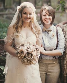 A Lesbian Bride's Parents Didn't Support Her, So The Internet Did
