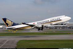 SQ's last 747!